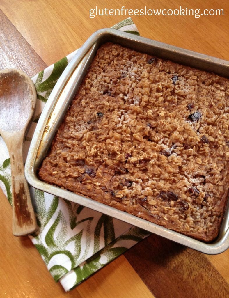 Cranberry Date Baked Oatmeal