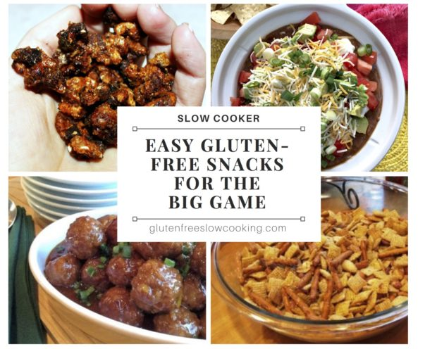 Gluten-free slow cooker snacks