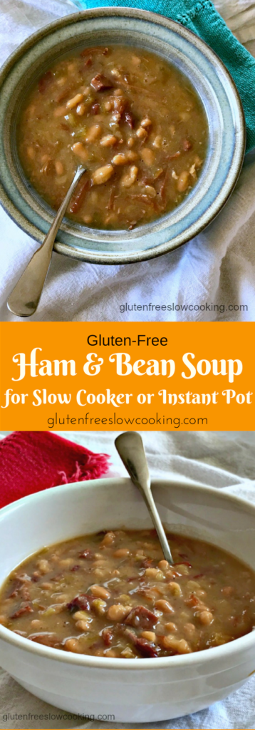 Gluten free ham and bean soup